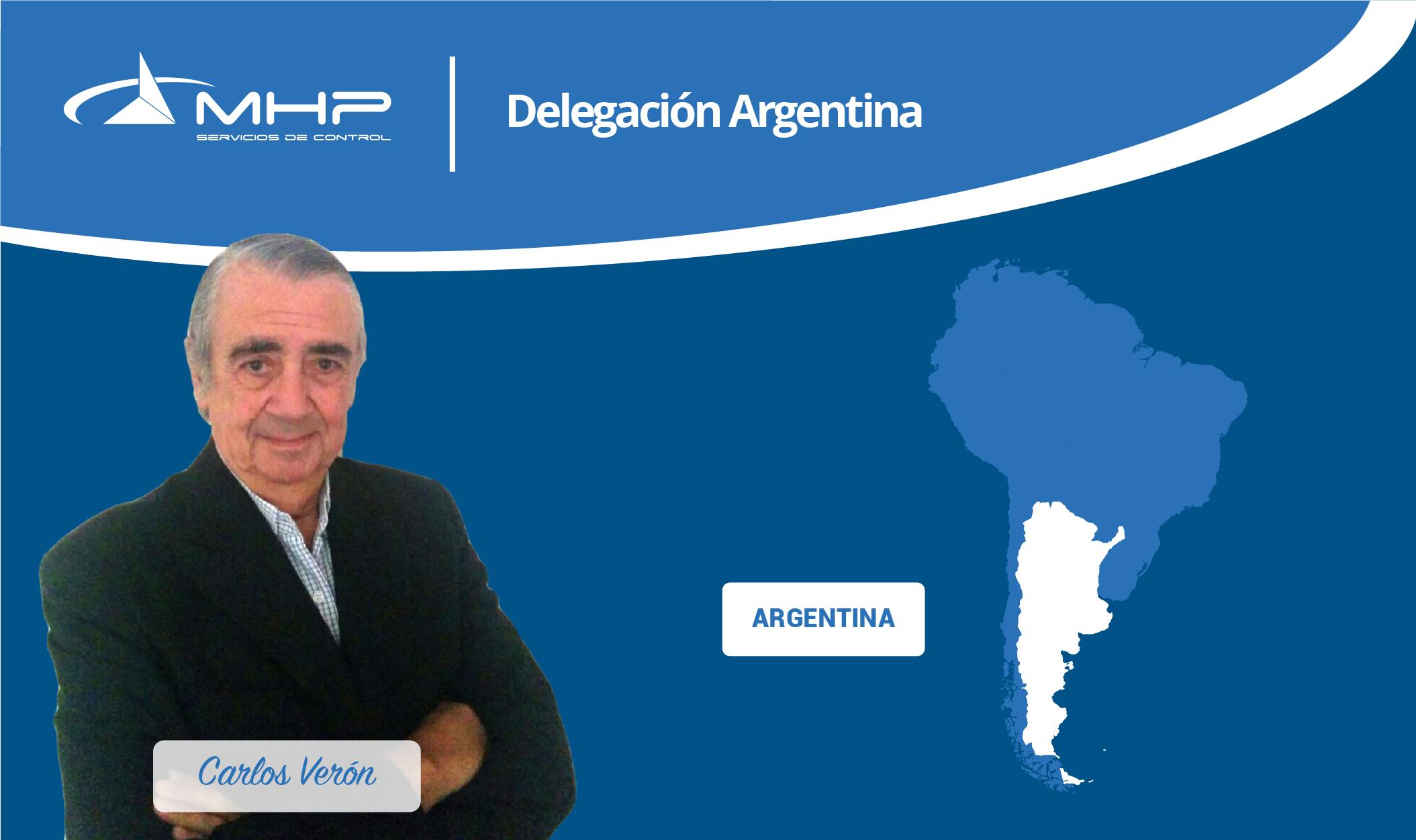 Delegación Argentina, Buenos Aires - Carlos Verón