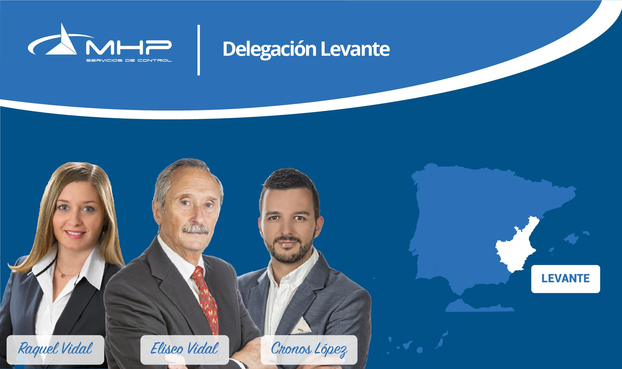 Delegación Levante - Raquel Vidal, Eliseo Vidal y Cronos López