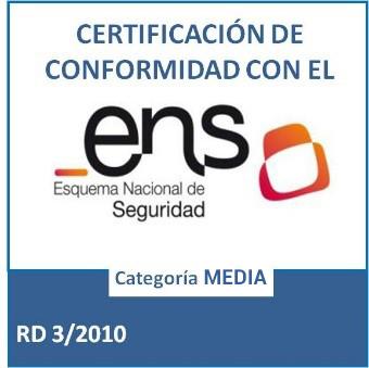 MHP se certifica en el Esquema Nacional de Seguridad (ENS) Nivel Medio
