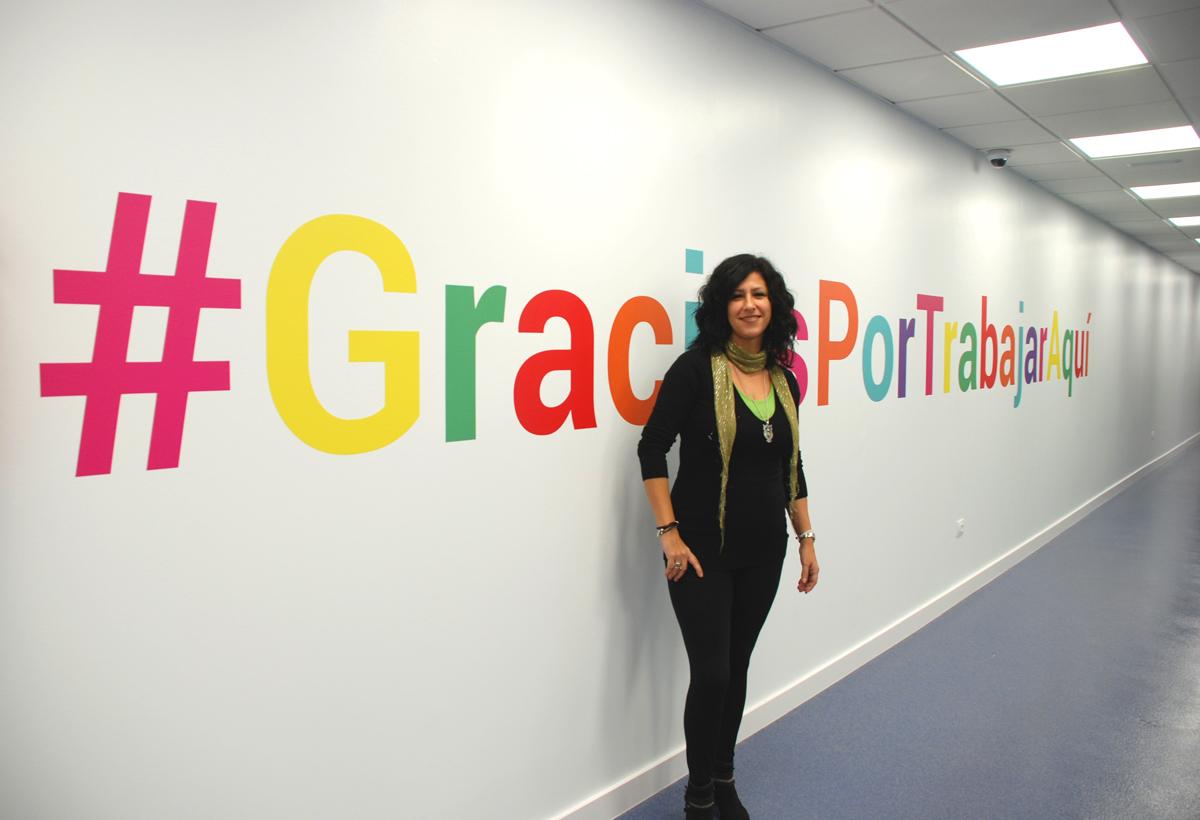 Silvia Muratore trabaja en el área de Soporte al Cliente de MHP